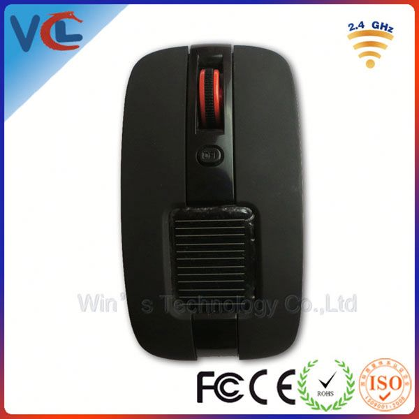 Solar mouse! VMW-82 2.4g optical charging wireless mouse from11 years experience factory