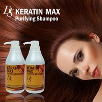 DS KERATIN MAX Deeply cleans hair purifying shampoo