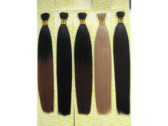 2013 fashion hot selling heat resistant fiber hair extensions