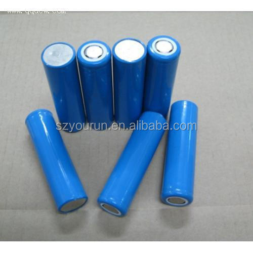Cylindrical 18*65mm 2Ah lithium ion recharge battery / 18650 3.7v 2000mah rechargeable battery