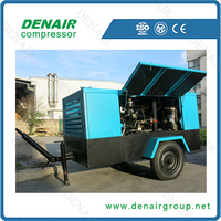 20 year factory 3.5m3 diesel air compressor portable