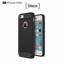 China manufacturer phone case factory custom carbon TPU phone case for Iphone 5 6 7