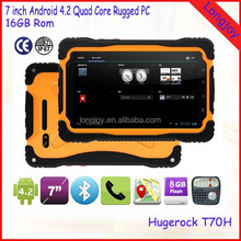 7 Inch Quad Core 1GB RAM 16GB ROM Android 4.2 Waterproof Rugged Tablet Pc Support 3G GPS