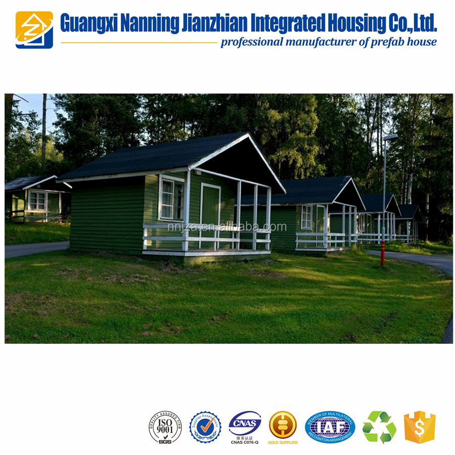 Light Steel two bedroom prefabricated house factory fancy fashion house portable prefab modular housing