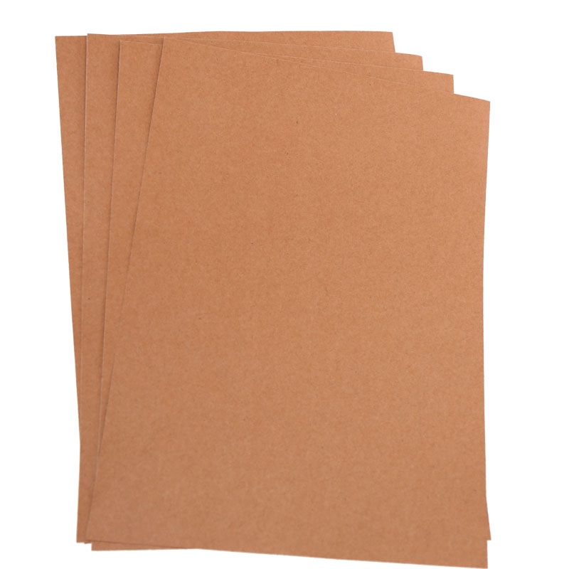 Light reddish kraft paper stock lot