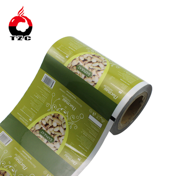 food plastic film roll for Durian Chips packaging with high barrier