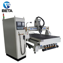 Low price Syntec control system Japan yaskawa servo atc auto tool changer cnc machine for furniture making