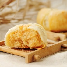 Chinese traditional grain snacks sweet walnut puff pastry