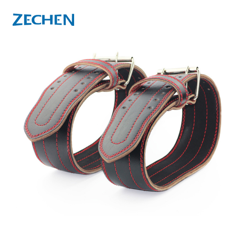 Genuine cow Leather weightlifting belt