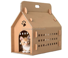 Cat cardboard cage cat house carton carrier