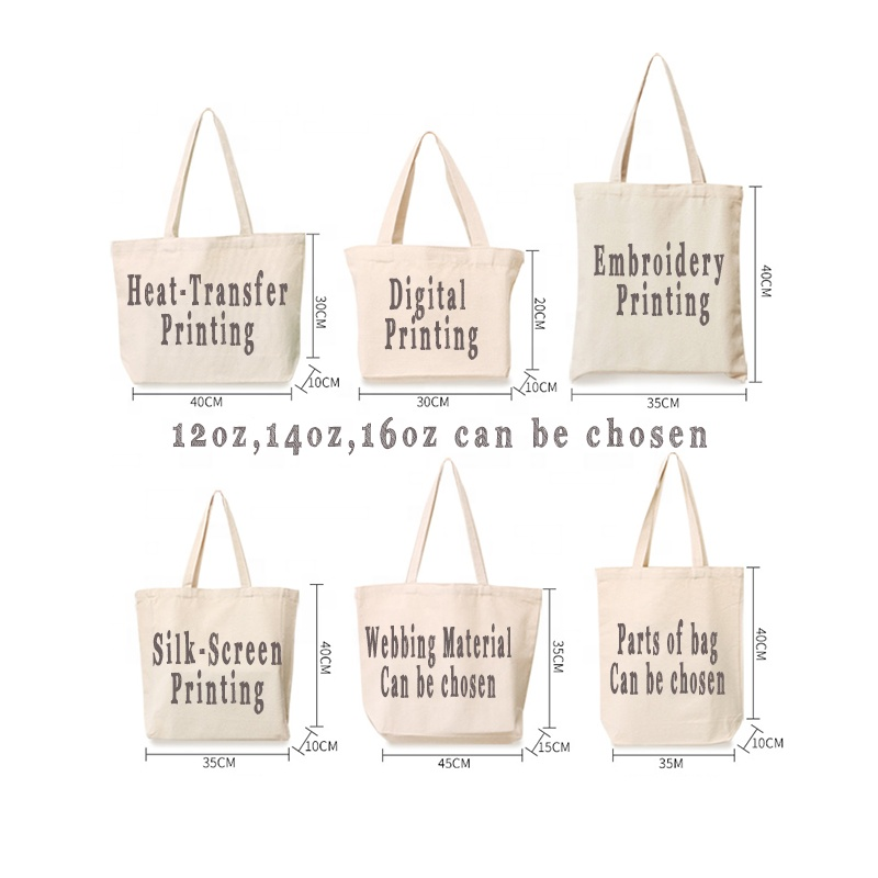 promotional <strong>eco</strong> oem 10oz logo hobo heavy blank plain grocery white cotton fabric tote korea shoulder canvas shopping shopper bag
