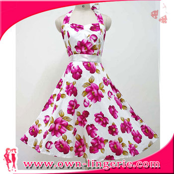 adult women party dress type high quality Rockabilly Vintage Swing DRESS in stock item