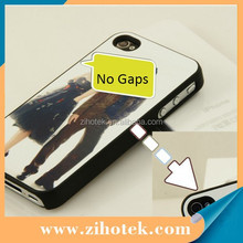 2D sublimation case for iPhone 4/4s ,blank sublimation oil spray case for iphone 4/4s