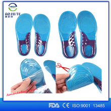 Top selling products in alibaba sport silicone insoles ,Gel shoes insole , Massage gel insole