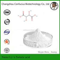 Factory Supply CAS No. 87-69-4 Food Additives L (+) -Tartaric Acid