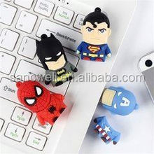 2014 new product wholesale captain america usb flash drive free samples made in china