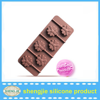 Beatiful flowers shape silicon molds for chocolate with cheap price