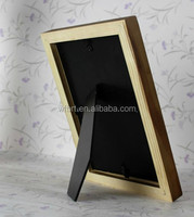 Wholesale ex-factory price fashion home decoration digital photo frame with rechargeable battery high-end picture frame