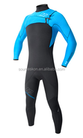 2016 fashion 3mm yamammoto neoprene Surfing suit, with front zip
