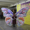 wholesale decorations large colorful inflatable butterfly wing costume