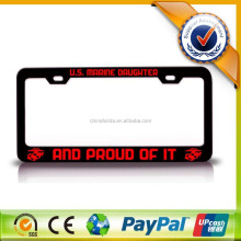 Top Sale Printing Image Custom Car License Plate Frame