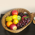 Eco-friendly handmade office plastic storage basket for fruits