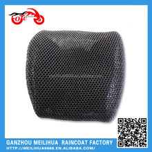 Black Polyester 8mm 3D Mesh Cool  elastic motorcycle seat cover