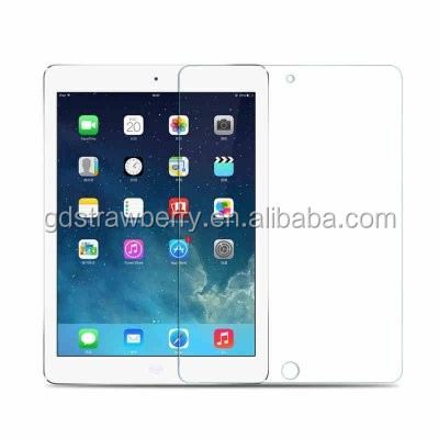 Japan import Anti-scratch Invisible tempered glass for ipad 5 screen protector guard