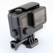 ABSEE Wholesale gopros Private mould Cool Dark Waterproof Housing with Bracket, for GoPros Heros 4 session and hero 4