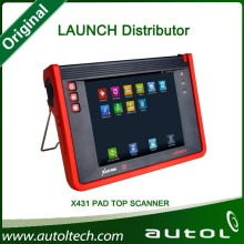 Original Launch Tablet Diagnostic Scanner X431 Pad Launch X-431 Pad Auto Repair Tools with built-in printer