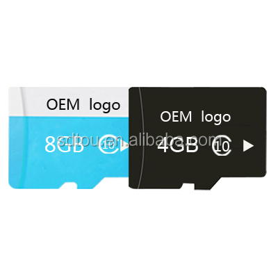 Wholesale Real Capacity Custom Logo SD Memory TF Card 4gb 8gb for RC Toy