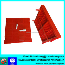 Wedge Wire Sieve Bend Screen for mineral sieving mesh , vibrating scieve