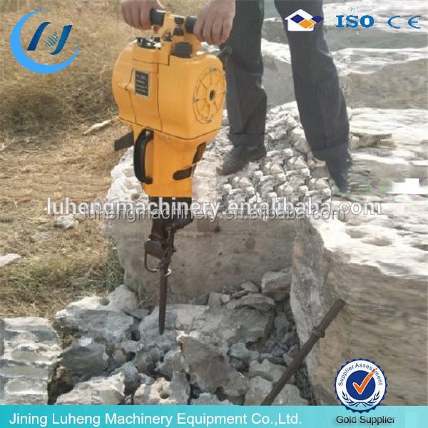Gas Powered Rock Drills and Breaker-Air Compressor YN27C Mini Gasoline Jack hammer - LUHENG