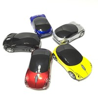 2.4G Mini Car Racing Car Shape Wireless Mouse
