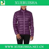 china sports clothing manufacturer down jacket for woman