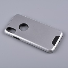 High-quality luxury hybrid combo hard pc mobile phone cover case for MOTO