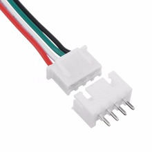 Wire harness Mini Micro JST XH 2.54mm 4 Pin Connector Plug With 24AWG 1007 Wires 150mm Length