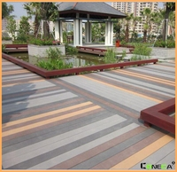 Hot sale good price wood and plastic composite wpc decking/Wholesale composite decking