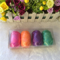 Mixed Colors for Gift Decoration Plastic Solid Ribbon Egg