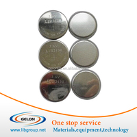 CR2450 Stainless Steel Button Cell Cases (24d x 5.0mm) for Battery Research - 100 pcs/pck