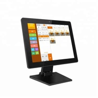 Factory supply 15.4 inch android 6.0 system 1GB+8GB all in one POS machine tablet for supermarket 15.4''