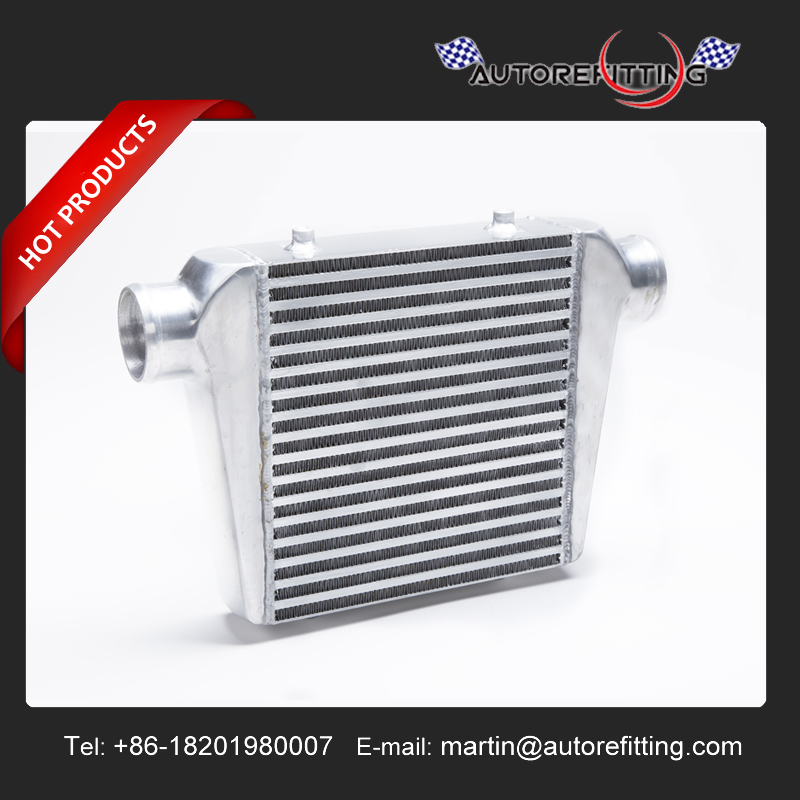 FRONT MOUNT 280MMX300MMX76MM 76MM INLET/OUTLET CORE BAR AND PLATE INTERCOOLER