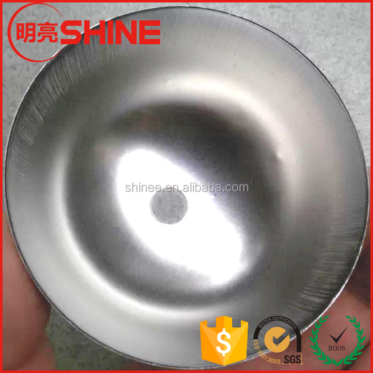 OEM Stainless Steel Half Hollow Ball with Threaded Hole