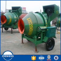 Factory Price Mobile Portable JZC JZC250 JZC350 JZC500 Mini Concrete Mixer