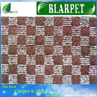 New style branded jacquard mat