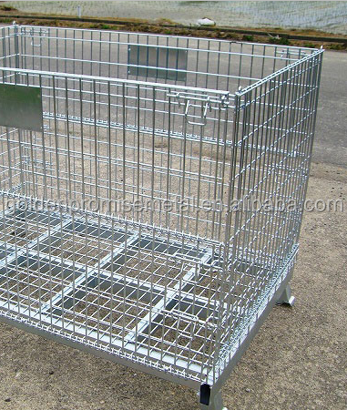Warehouse Storage Metal Cage