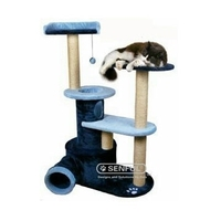 Attractive wooden cat tree house pet product cat scratcher board