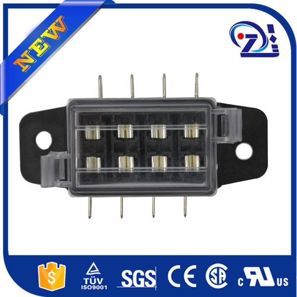 New Black plastic auto electrical connector 12v Fuse Relay Box