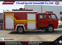 5000 liters small pump fire tender truck for sale