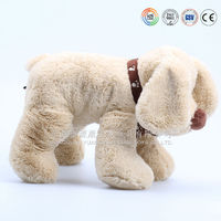 Best selling products pencil case plush dog puppy stuffed